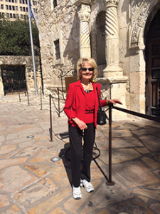 Rev. Velma at The Alamo